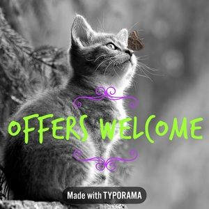 🦋🦋🦋 OFFERS WELCOME 🦋🦋🦋